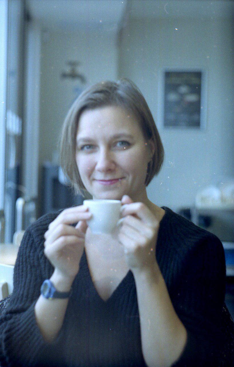 Kleine Ruhepause. Mit Kaffee oder Tee.